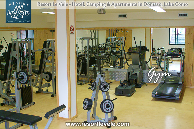 hotel resort Le vele with gym Lake Como
